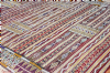 Moroccan Kilim Rug Zemmouri Pure Wool Handwoven 192 cm x 145 cm / 6.3 ft x 4.7 ft ( KR1)